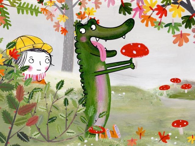 Rita en de krokodil en paddestoel - KijkDoos